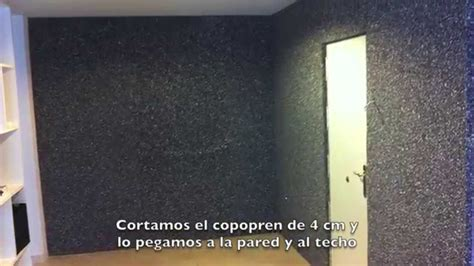habitacion insonorizada insonorizar una habitaci 243 n youtube