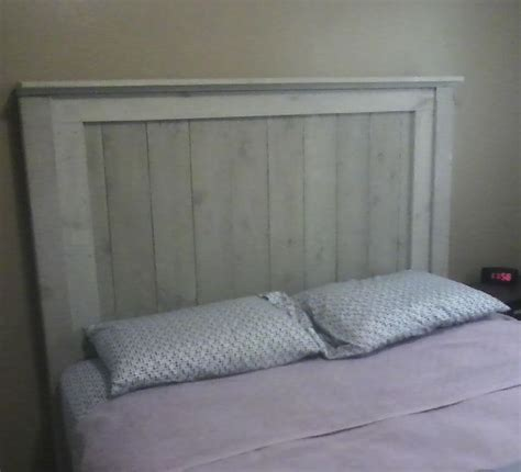 Fence Post Headboard by Headboard I Made For And His I Used