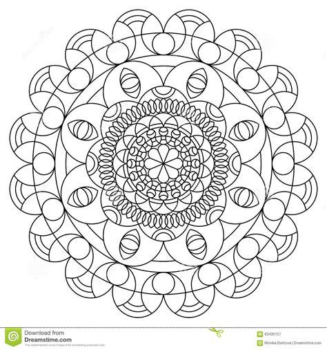 mandala coloring pages livro livro para colorir da mandala ilustra 231 227 o do vetor imagem