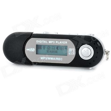 Usb Mp3 Player mp3 player with built in usb port 1gb free shipping dealextreme