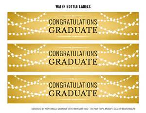 graduation labels template free free gold graduation printables catch my