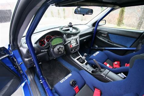 subaru wrx custom interior sports car advisors the automobile enthusiast magazine