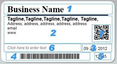 Dymo Labels Dymo Custom Label Template