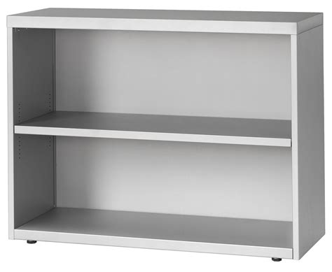 2 Wide Bookcase by 2 High 42 Wide One Adjustable Shelf Bookcase
