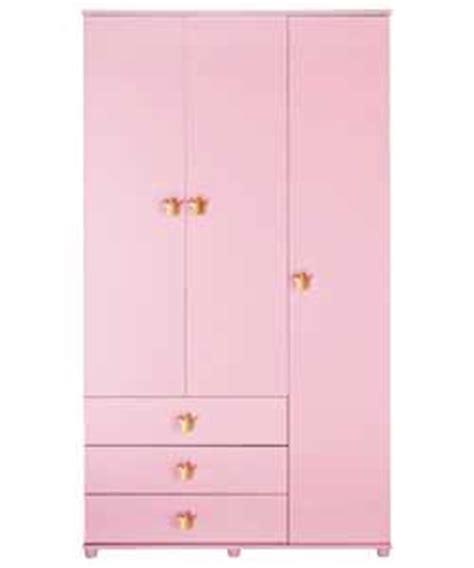 Pink Wardrobe by Cameo 3 Door 3 Drawer Wardrobe Pink Wardrobe Review