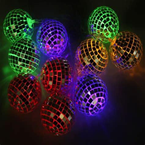 childrens led string lights retro glitter string lights