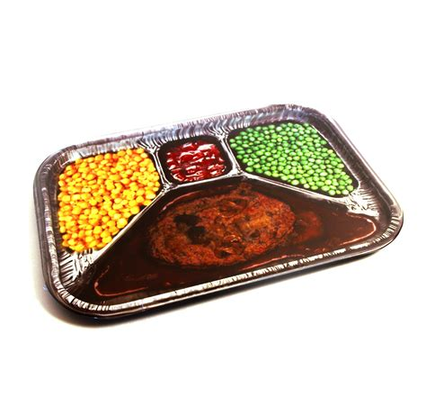 Dinner Tray by Tv Dinner Photoprint Metal Tray Pink Cat Shop