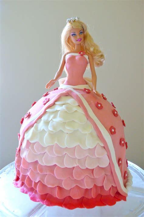 doll design birthday cake barbie cake barbie beautiful cakes pinterest