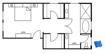 Master Bedroom And Bathroom Floor Plans by Gallery For Gt Master Bath With Closet Layout