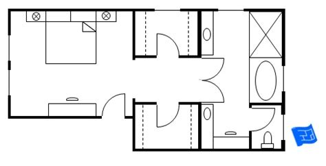 Master Bathroom Floor Plans With Walk In Closet by Master Bedroom Floor Plans