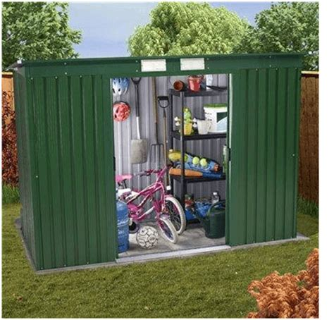 Billyoh Sheds Review by The Billyoh Sutton Pent Metal Shed What Shed