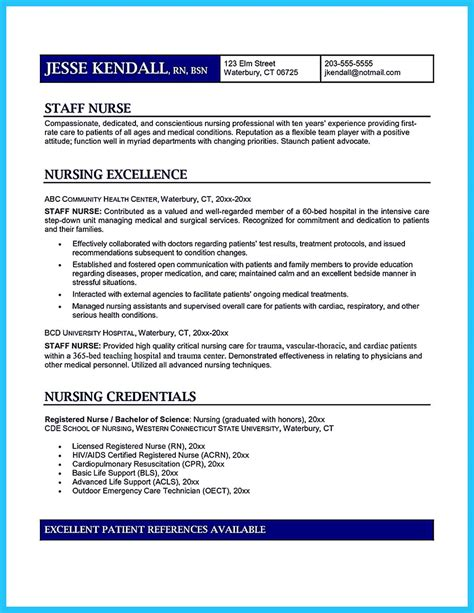 Icu Resume by High Quality Critical Care Resume Sles