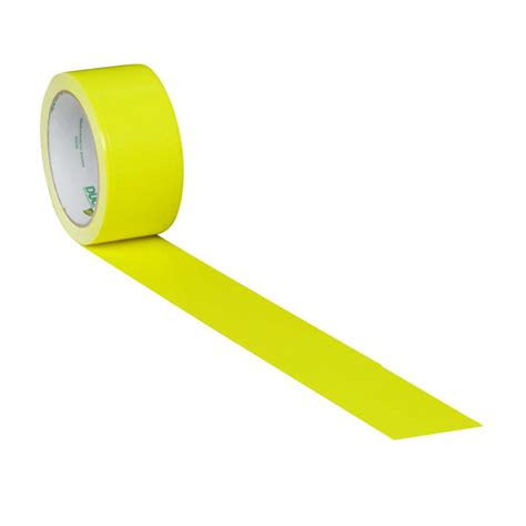 color duct color duct yellow 1 88 in x 15 yd duck brand