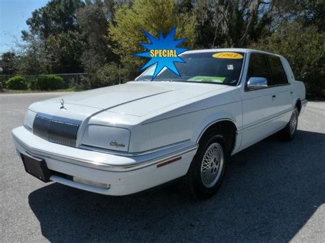 1993 chrysler new yorker for sale 30 used cars from 840 1993 chrysler new yorker salon 4dr sedan for sale from ta st pete clearwater florida adpost