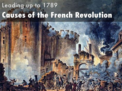 Of The Revolution ap european causes of revolution by david tucker