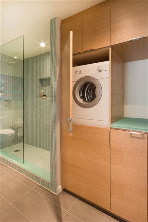 modern laundry hers sherbourn st modern laundry room toronto by