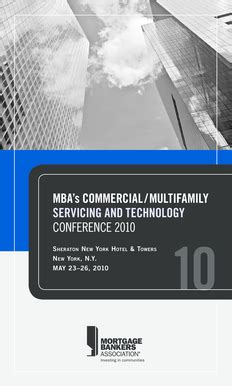 Mba Servicing And Technology Conference 2014 fillable mortgagebankers multifamily servicing and