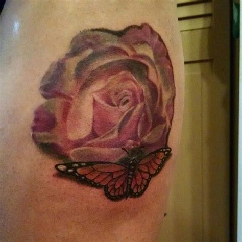 grade a tattoo fort wayne and butterfly covering a scar by wayne morel