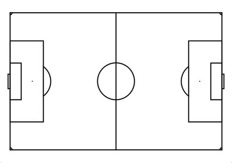 soccer pitch template printable football template 10 free word excel pdf