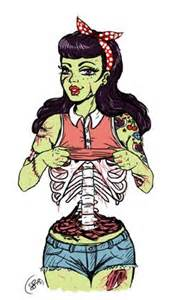 1000 ideas about zombie pin up on pinterest zombie girl zombie art