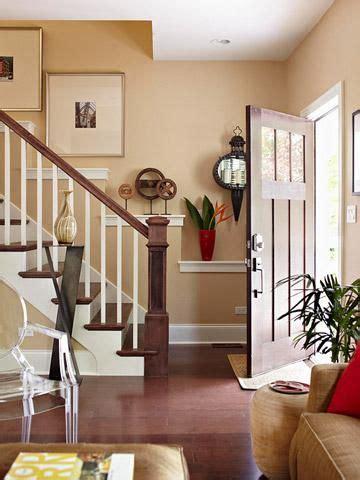 welcoming foyers decorating stairway walls stairway