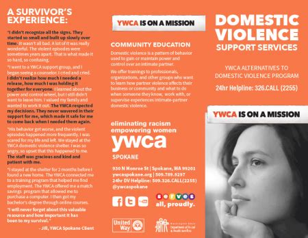 end the silence with domestic violence ywca spokane help with domestic violence ywca spokane