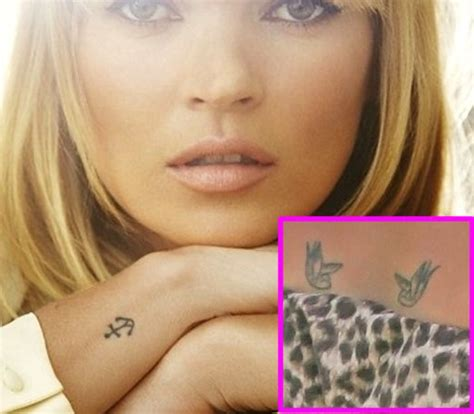tattoos an edgy new accessory for today s hottest models
