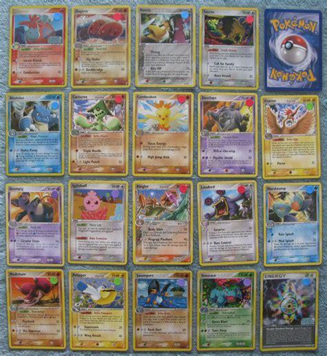 ebay pokemon cards pokemon tcg ex crystal guardians holo rare reverse holo