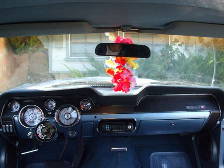 1968 mustang project instrument bezel dash trims and mini