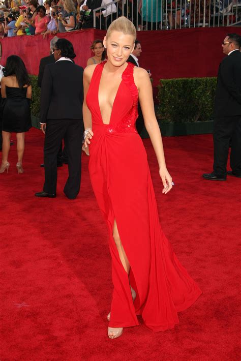 the hottest red carpet styles are those women age 60 and red carpet photos of blake lively in red on emmy awards