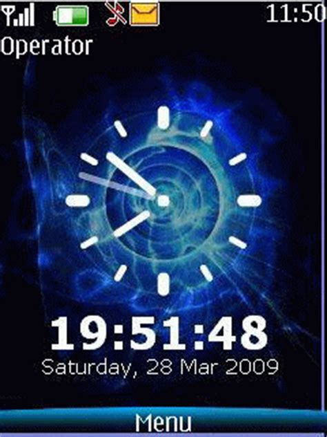 clock themes x202 download clock s40 theme