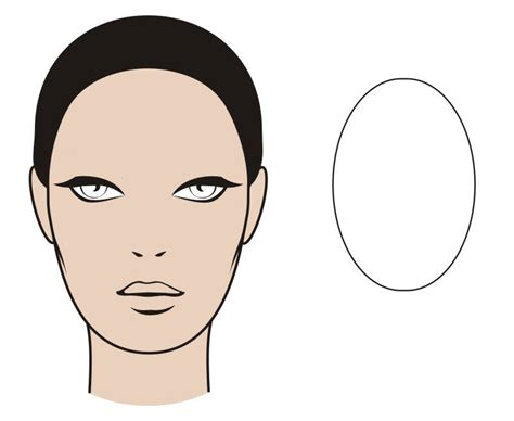 oval shaped heads the best brows for your face shape