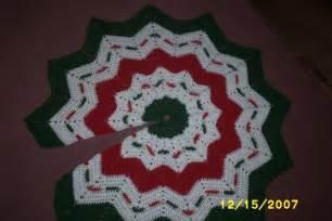 pattern crochet tree skirt easy crochet patterns