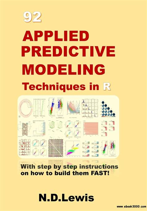 Applied Predictive Modeling 92 applied predictive modeling techniques in r free