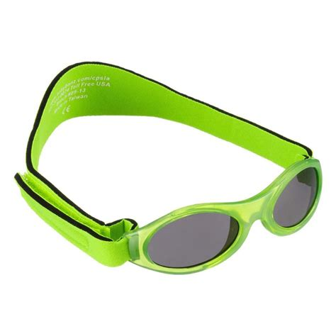 key lime green banz baby adventure sunglasses 0 2 years key lime green