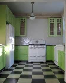 Green Kitchen Cabinets Painted by Green Apple Kitchen Decor And Color Inspiration