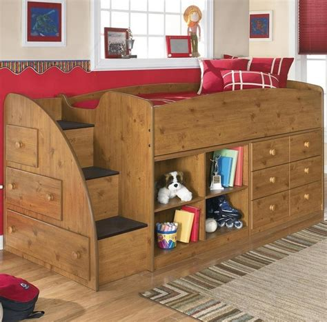 kid loft bed storage loft kids bed king louis pinterest