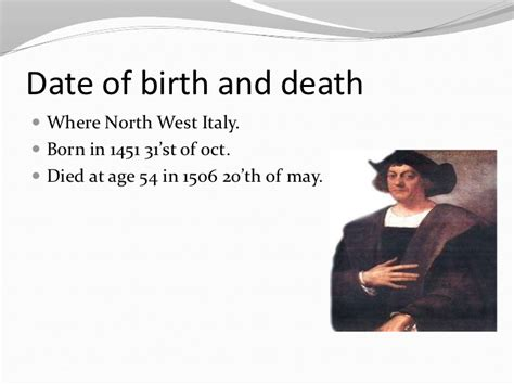 christopher columbus biography early years christopher columbus