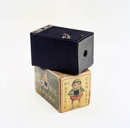 kodak brownie camera with original box, c 1902. at science