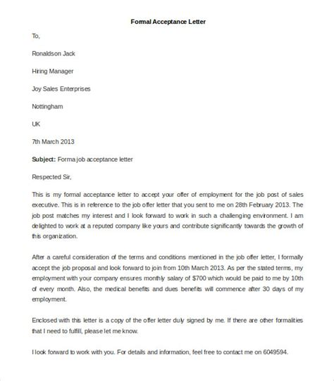 Official Letter Format And Exle 23 Best Formal Letter Templates Free Sle Exle