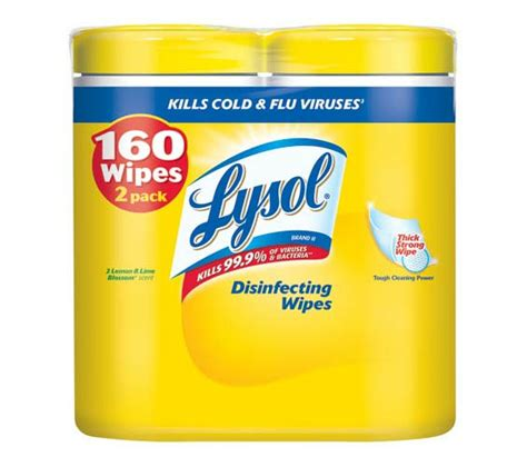 amazon com lysol wipes banded pack lemon and lime