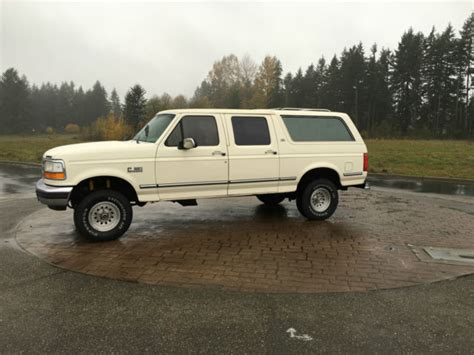 Four Door Bronco For Sale by Ford Bronco Suv 1992 White For Sale 1fmeu15h9nla27617