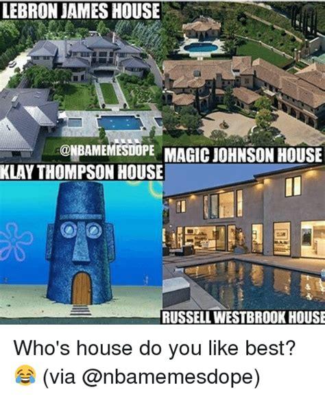 magic johnson house lebron james
