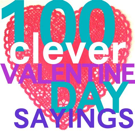 valentines sayings 154 clever valentines day sayings c r a f t