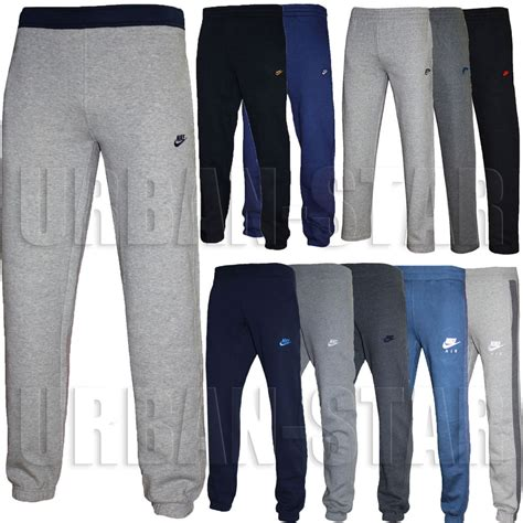 wo kauft fensterbã nke new mens nike fleece joggers tracksuit bottoms track