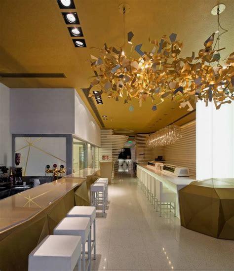 innovative interior design ideas modern japanese restaurant with innovative light effect