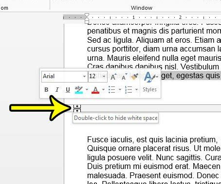 print layout view word 2013 how to hide the white space between pages in print layout