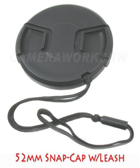 Grosiran Lens Cap 52mm W Leash For Nikon 52mm Quot Center Pinch Quot Style Cap W Leash For Nikon 18 55mm Ebay