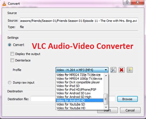 format export video how to convert audio or video files to any format using vlc