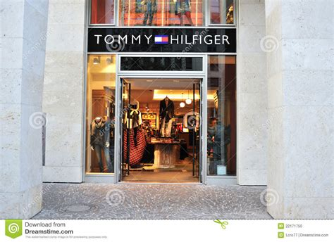 mens shop by hilfiger clothing store editorial image image